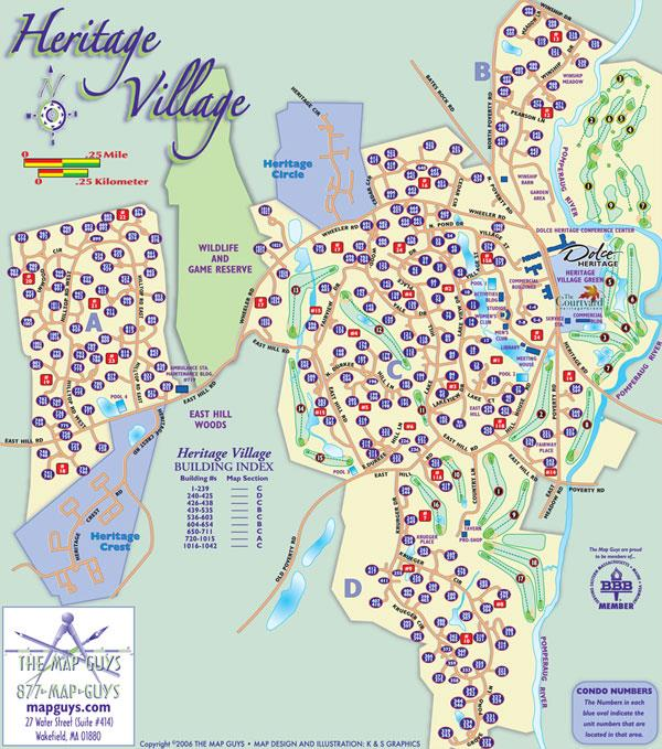 Heritage Village Map